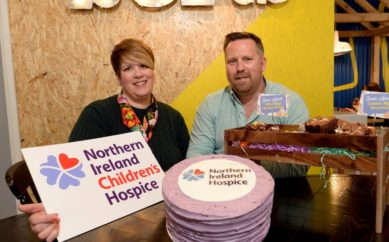 BOB AND BERTS SERVES UP CHARITY PARTNERSHIP  WITH NORTHERN IRELAND CHILDREN'S HOSPICE