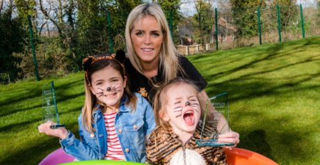 TIGER TOTS NURSERY CELEBRATES 'ROARING' SUCCESS WITH TWO NATIONAL CHILDCARE AWARDS