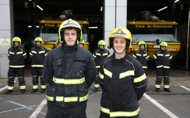 FIREFIGHTING APPRENTICES LAND PERMANENT ROLES AT BELFAST CITY AIRPORT