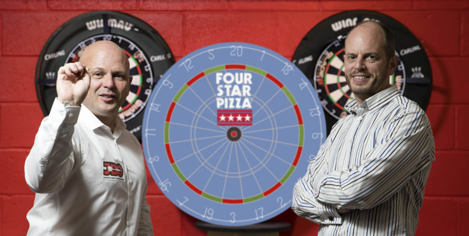 Four Star Pizza hits Bullseye with young darts players