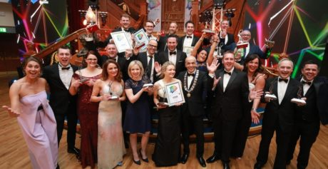 A night of celebration, excellence and creativity – 21 businesses recognised at the Belfast Business Awards 2019