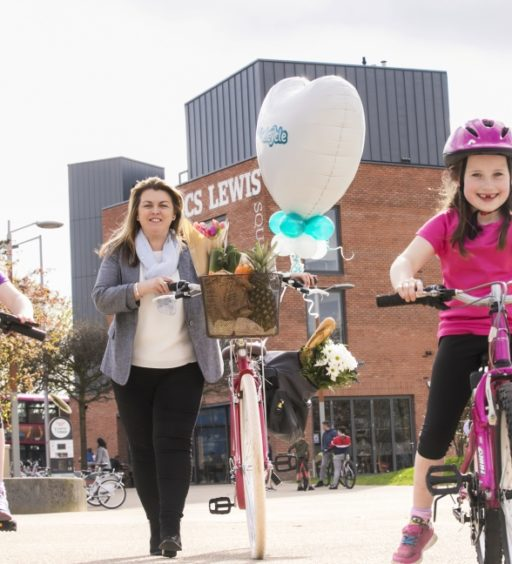 Belcycle is back! Belfast's cycling festival returns to CS Lewis Square
