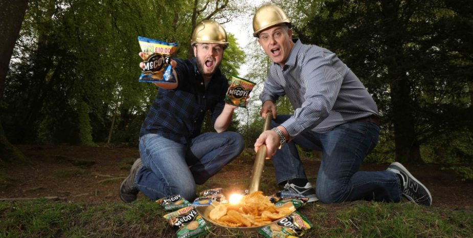 THERE'S GOLD IN THEM THAR CRISPS!!!