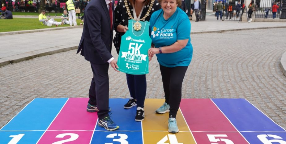 Translink and Belfast City Council call walkers, joggers and runners to sign-up to unique 5K charity challenge!