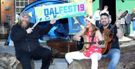 GET 'READY TO GO' AS 'THINGS CAN ONLY GET BETTER ' AT THIS YEAR'S DALRIADA FESTIVAL
