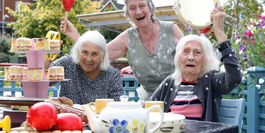 Abbeyfield and Wesley residents celebrate BBC Music Day 2019 with musical teas