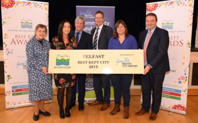 HAT TRICK OF WINS FOR BELFAST AT NORTHERN IRELAND'S 'BEST KEPT' AWARDS