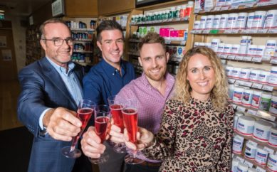 HEALTHY FUTURE AS THIRD GENERATION OF FAMILY TAKE ON ICONIC BELFAST BUSINESS