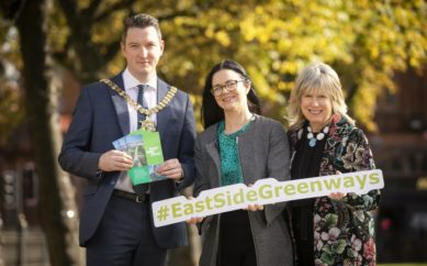 GROWING GREENWAYS – PLAN LAUNCHED TO BUILD ON SUCCESS OF CONNSWATER COMMUNITY GREENWAY