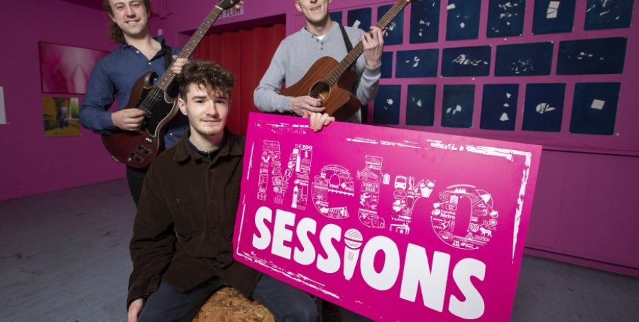 East Belfast band make final of 'Metro Sessions' music competition