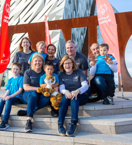 Titanic Tigers Special Olympics Club launches in East Belfast