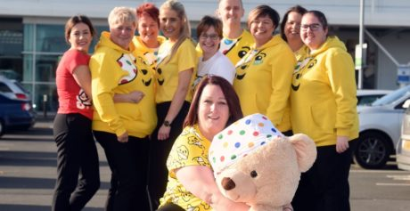 Asda colleagues in Northern Ireland fundraise for BBC Children in Need this November