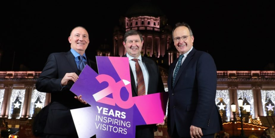 Visit Belfast celebrates 20 years of city revitalisation