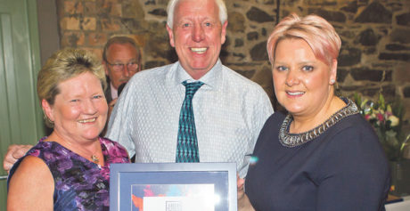 BEST FAMILY BUSINESS AWARD FOR HILLMOUNT ARDS