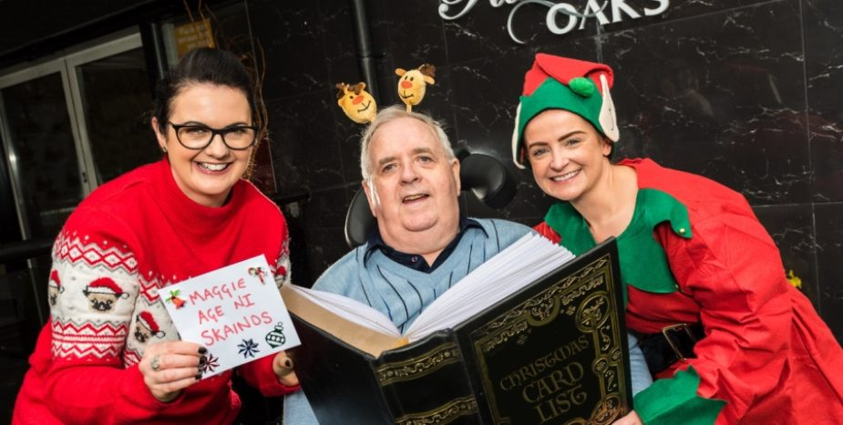 LOCAL CARE HOME GROUP TEAMS UP WITH AGE NI TO ENSURE A CONNECTED CHRISTMAS IS ON THE CARDS