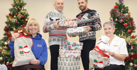 EDUCATION AUTHORITY 'GIVING BACK' WITH NEW CHRISTMAS FAMILY APPEAL PARTNERSHIP
