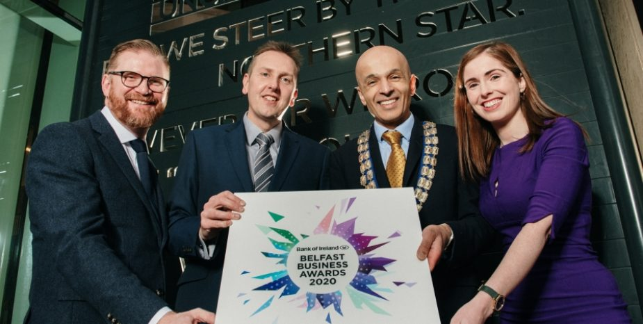 """Showcasing Excellence, Creativity and the """"The Best of Belfast"""" The BelfastBusinessAwards2020 are now open for entries"""