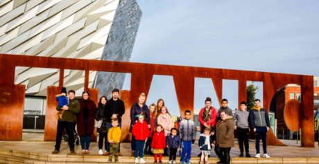 Local Community Groups Enjoy 'Titanic' Day Out along the Maritime Mile