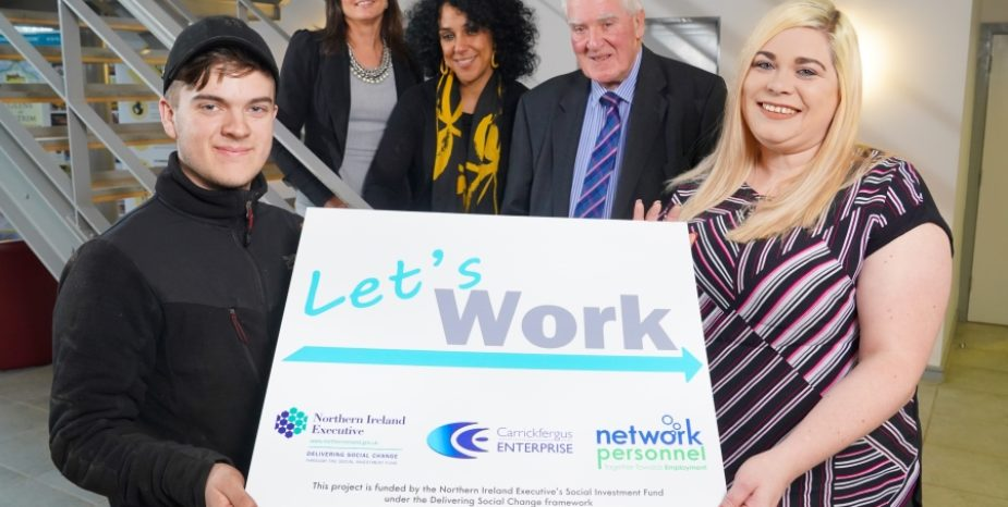 £1.7M BOOST FROM SOCIAL INVESTMENT FUND AIMS TO INCREASE EMPLOYMENT RATES