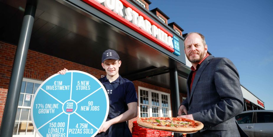 Four Star Pizza serves up record results