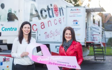Its4women.co.uk Breast Screening Drive for Action Cancer