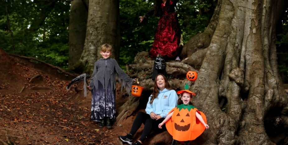 TURN YOUR LITTLE DEVILS INTOHOLISTIC KIDZWITH HALLOWEEN FOREST CAMP