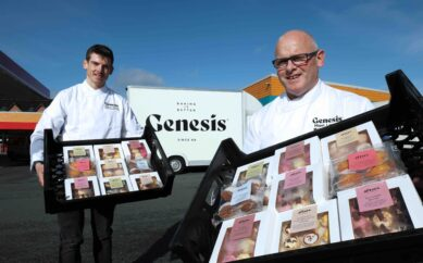 The Great Irish Bake Off winner helps Genesis sweeten up offering with brand new bakes and pastry range