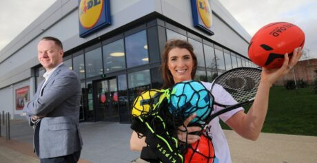 Sporting Legends Join Forces to Launch Lidl Northern Ireland Sport for Good 2020