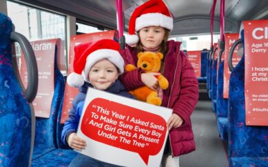 'Stuff A Bus' NI goes virtual to support NI families this Christmas