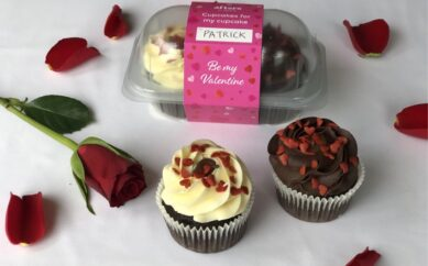 SAY IT WITH GENESIS CUPCAKES THIS VALENTINE'S DAY