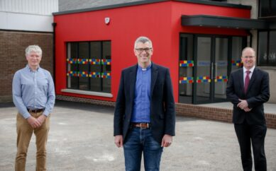 St Mary's, Ballybeen invests over £500k with Ulster Bank support