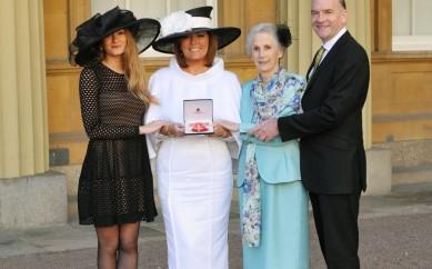 East Belfast Woman Picks Up OBE