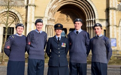 East Belfast Cadets Mark 75 Years Of Flying High