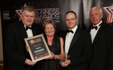 DELICIOUS DOUBLE RECOGNITION FOR HILLMOUNT GARDEN CENTRE AT LISBURN BUSINESS AWARDS