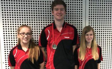 Table Tennis Success Table Tennis success at Junior British League!