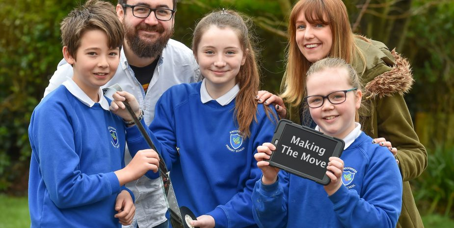 CINEMAGIC'S 'MAKING THE MOVE' PROJECT HELPS P7 STUDENTS PREPARE TO TRANSITION FROM PRIMARY TO POST-PRIMARY SCHOOL