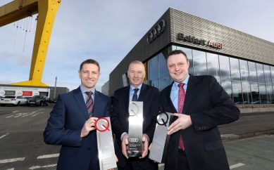 Belfast and Portadown Audi Receive Audi UK Awards