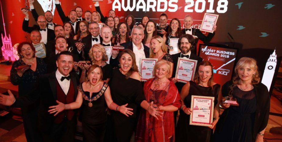 22 Belfast businesses shine at the Belfast Business Awards with  Principal Sponsor, Bank of Ireland UK