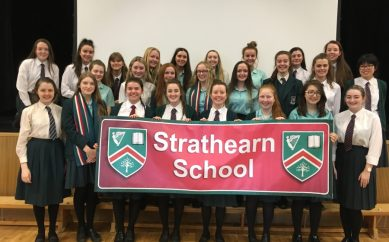 Strathearn is set for singing success