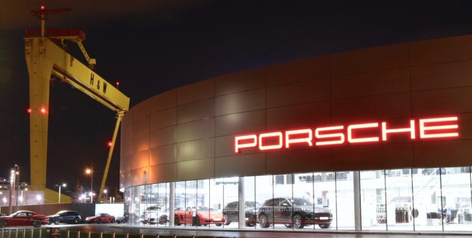 New Porsche Centre Belfast opens for business in Titanic Quarter