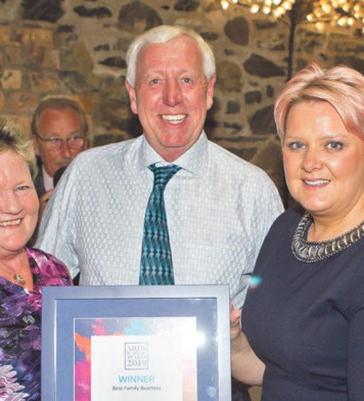 BEST FAMILY BUSINESS AWARD FOR HILLMOUNT ARDS