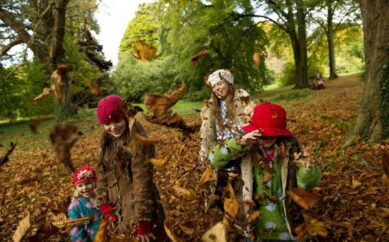 Say 'boo' to boredom this October half term with the National Trust