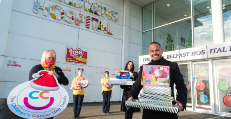 "Children's Cancer Unit Charity Receive ""Dream"" Toy Donation"