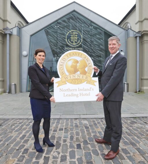 THREE IN A ROW FOR TITANIC HOTEL BELFAST WITH GLOBAL TRAVEL AWARDS HONOUR