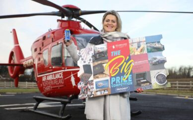 Air Ambulance NI encourages NI public to enter The Big Prize Competitionand help save lives