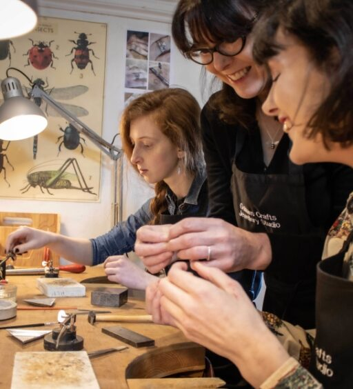 Gobbins Crafts Jewellery Studio Becomes 11th NI Tourism Business To Be Granted Économusée Status