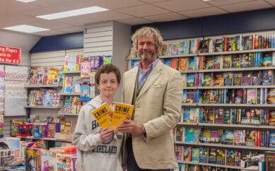 Author William Clegg Celebrates Book Listing In Stewart Miller Stores