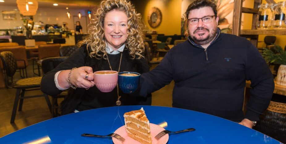 Local Business Duo Launch Living Room Cafe