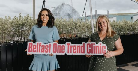 Rebecca McKinney teams up with Belfast One to help us step out of lockdown in style